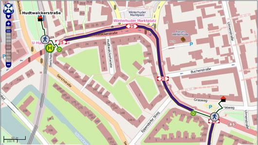 Map HVV
